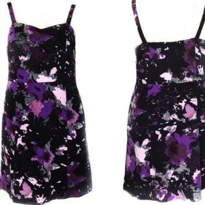 Lane Bryant Abstract Floral Dress 20